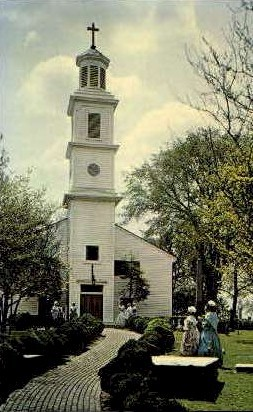 St. Johns Episcopal Church - Richmond, Virginia VA Postcard