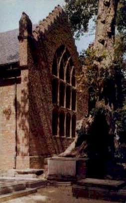 Blair Tomb - Jamestown, Virginia VA Postcard