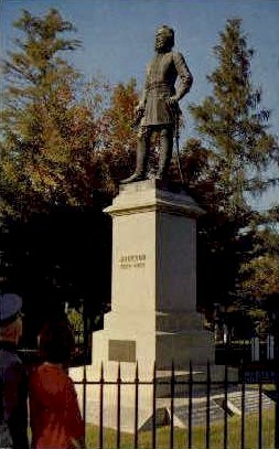 Burial Place - Lexington, Virginia VA Postcard