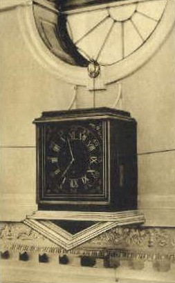 Seven-Day Clock - Monticello, Virginia VA Postcard