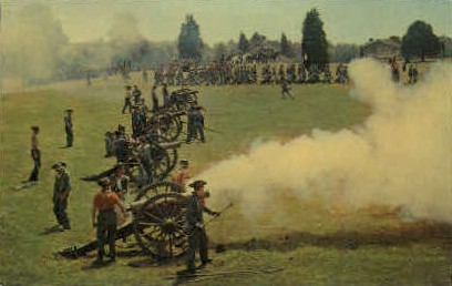 Battle of First Manassas - Misc, Virginia VA Postcard