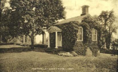 Monticello Honeymoon Lodge - Virginia VA Postcard
