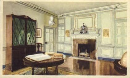 Library at Mt. Vernon - Mt Vernon, Virginia VA Postcard