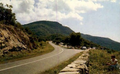 Stony Man Mt.  - Misc, Virginia VA Postcard
