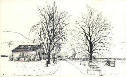 Homestead Collection & Gift Shop - Fancy Gap, Virginia VA Postcard