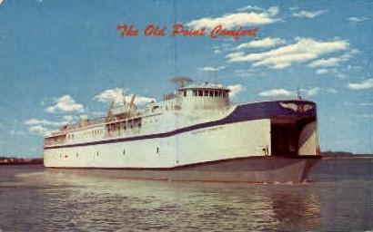Old Point Comfort Ferry - Misc, Virginia VA Postcard