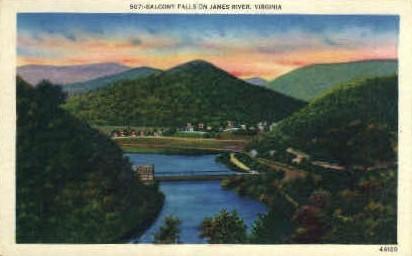 Balcony Falls  - Misc, Virginia VA Postcard