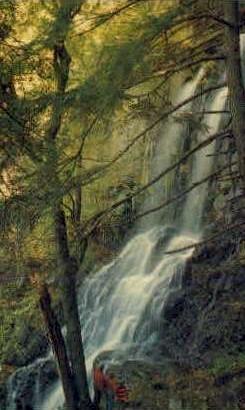 Lewis Falls  - Shenandoah National Park, Virginia VA Postcard