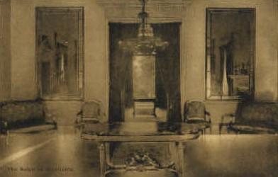 The Salon at Monticello - Virginia VA Postcard
