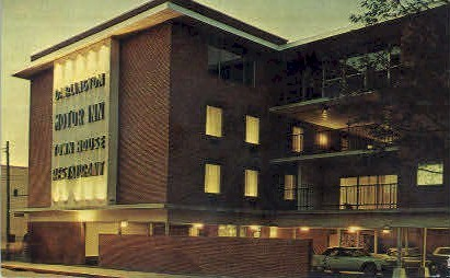 Darlington Motor Inn - Winchester, Virginia VA Postcard