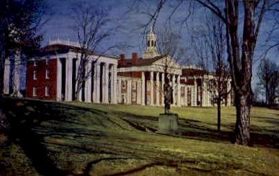 Washington & Lee University Campus - Lexington, Virginia VA Postcard