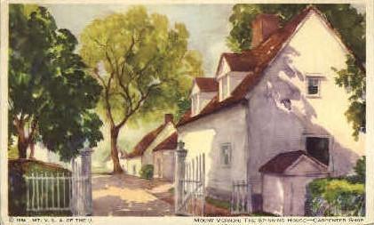 The Spinning House - Mt Vernon, Virginia VA Postcard