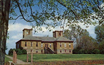 Stratford Hall, Birthplace of Robert E. Lee - Montross, Virginia VA Postcard