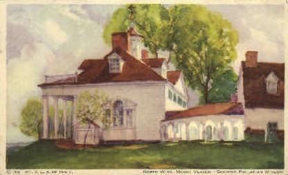 North Wing - Mt Vernon, Virginia VA Postcard