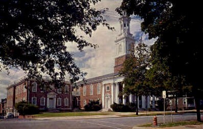 Centenary Methodist Church - Lynchburg, Virginia VA Postcard