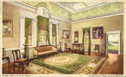 The Banquet Hall - Mt Vernon, Virginia VA Postcard