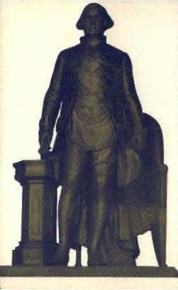 Statue of General Washington - Alexandria, Virginia VA Postcard