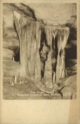 The Gypsy Tent, Endless Caverns - New Market, Virginia VA Postcard