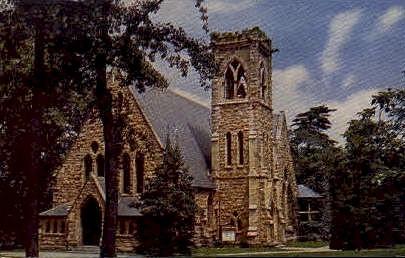 University Chapel, University of Virginia - Charlottesville Postcard