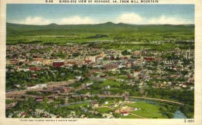 Roanoke,Virginia, VA, Postcard