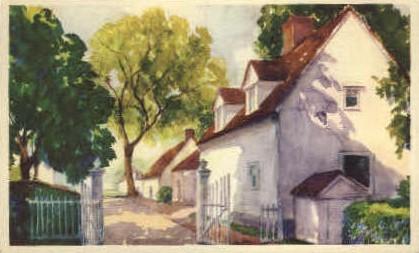 North Lane - Mt Vernon, Virginia VA Postcard