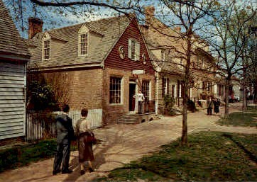 The Margaret Hunter Shop - Williamsburg, Virginia VA Postcard