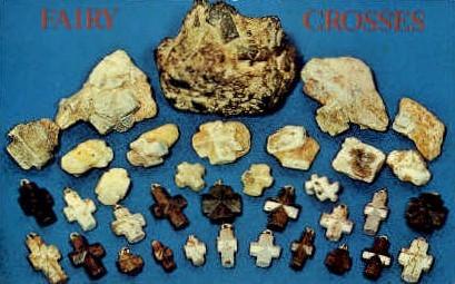 Fairy Crosses - Misc, Virginia VA Postcard
