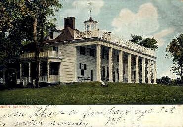Mt. Vernon Mansion - Mt Vernon, Virginia VA Postcard
