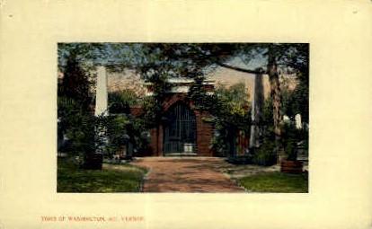 Tomb of Washington - Mt Vernon, Virginia VA Postcard