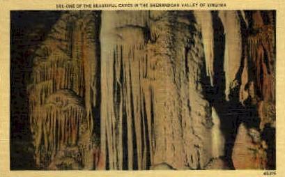 Cave - Misc, Virginia VA Postcard