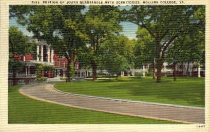 Hollins College - Misc, Virginia VA Postcard