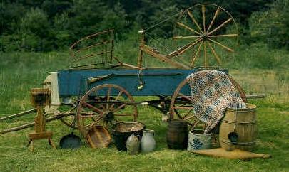 Artifacts of Pioneer Life - Misc, Virginia VA Postcard