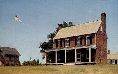 Clover Hill Tavern - Appomattox Court House, Virginia VA Postcard