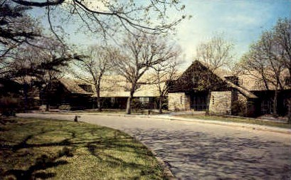 Big Medows Lodge - Shenandoah National Park, Virginia VA Postcard