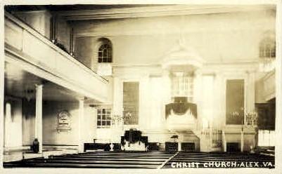 Real Photo, Christ Church - Alexandria, Virginia VA Postcard