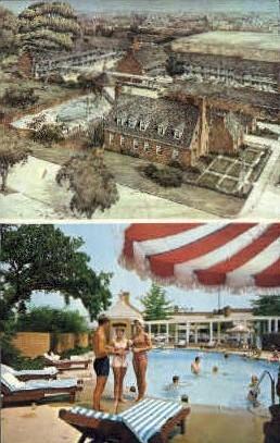 Quality Motel Olde Colony - Alexandria, Virginia VA Postcard