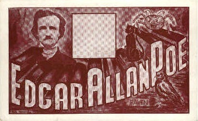 Edgar Allan Poe - Richmond, Virginia VA Postcard