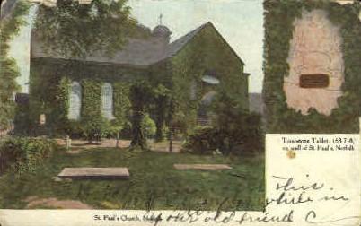St. Pauls Church - Norfolk, Virginia VA Postcard