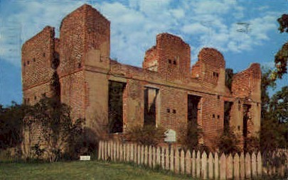 Jaquelin-Ambler House - Jamestown, Virginia VA Postcard