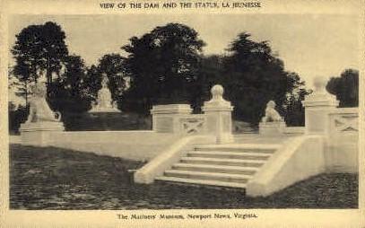 The Mariners Museum - Newport News, Virginia VA Postcard