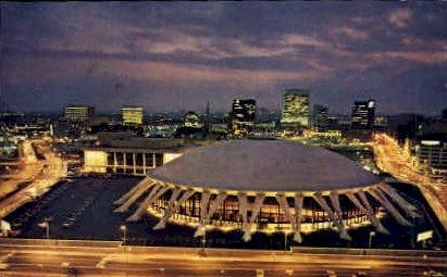 Convention & Cultural Center - Norfolk, Virginia VA Postcard