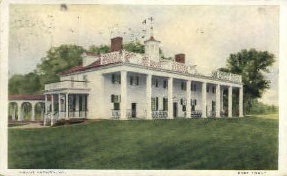 East Front   - Mt Vernon, Virginia VA Postcard