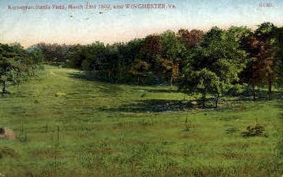 Kernstown Battle Field - Winchester, Virginia VA Postcard