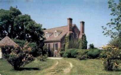 Washingtons Birthplace - Wakefield, Virginia VA Postcard