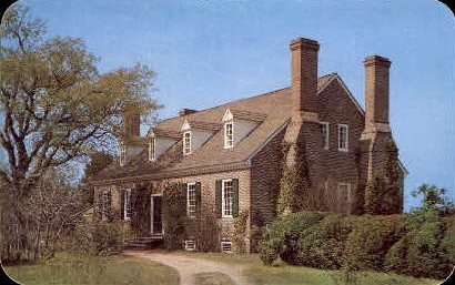 Memorial House - Misc, Virginia VA Postcard