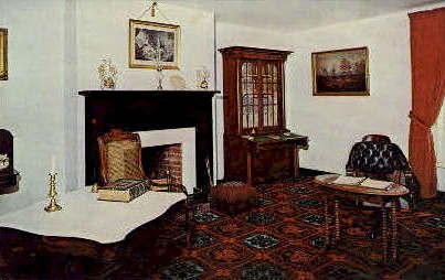 Parlor, Reconstructed McLean House - Appomattox Court House, Virginia VA Postcard