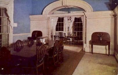 Dining Room, Monticello - Charlottesville, Virginia VA Postcard