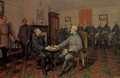 The Surrender of General Lee - Appomattox Court House, Virginia VA Postcard
