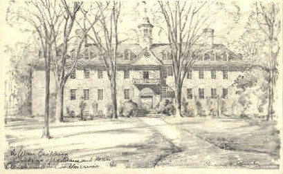 Wren Bldg  - Williamsburg, Virginia VA Postcard