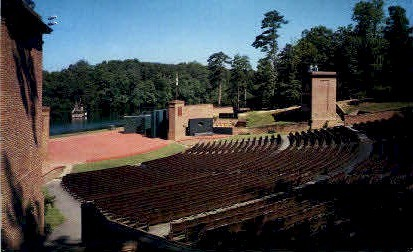 Common Glory Amphitheatre - Williamsburg, Virginia VA Postcard